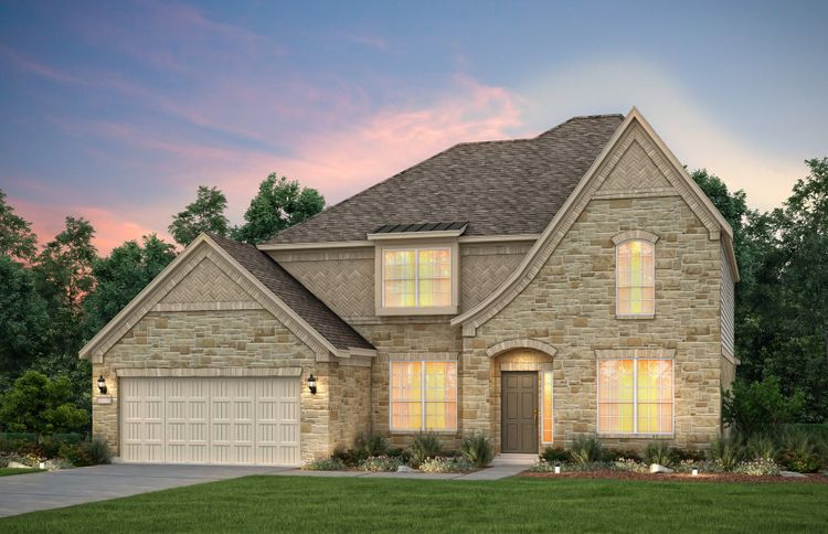 Exterior featured in the Andorra By Pulte Homes in San Antonio, TX