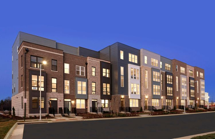 Exterior featured in the Dyerton By Pulte Homes in Washington, VA