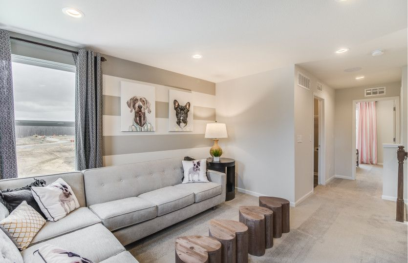 Living Area featured in the Aspire By Pulte Homes in Detroit, MI