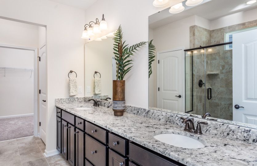 Bathroom featured in the Eastway By Pulte Homes in Raleigh-Durham-Chapel Hill, NC