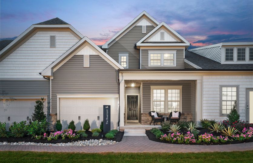 Bluemont With Basement   Hunterdon Creekside: Flemington, New Jersey    Pulte Homes