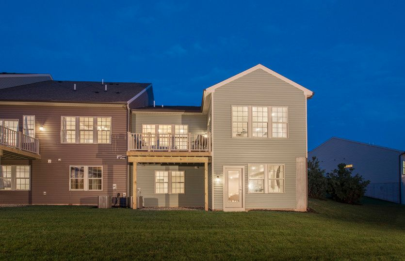 Exterior featured in the Florence with Basement By Pulte Homes in Hunterdon County, NJ