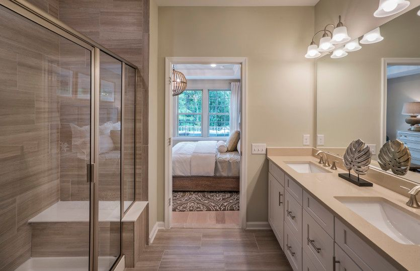 Bathroom featured in the Florence with Basement By Pulte Homes in Hunterdon County, NJ