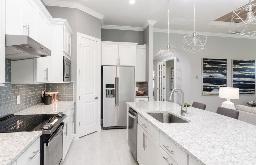 Kitchen-in-Summerwood-at-WildBlue-in-Fort Myers