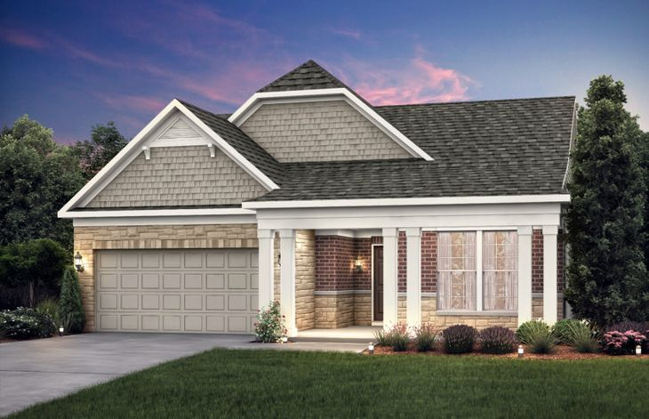 Bedrock with basement:Home Exterior LC2M