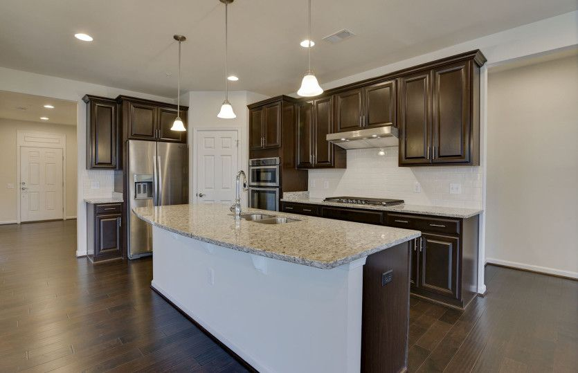 Kitchen featured in the Bedrock with basement By Pulte Homes in Detroit, MI
