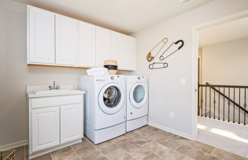 Laundry-in-Maple Valley-at-Manors at Lochaven-in-Noblesville