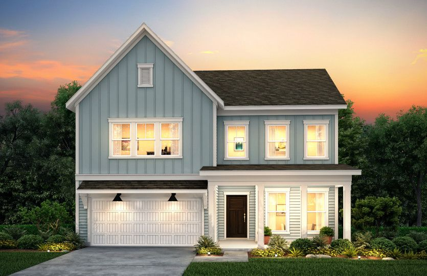 Exterior featured in the Stonebrook By Pulte Homes in Hilton Head, SC
