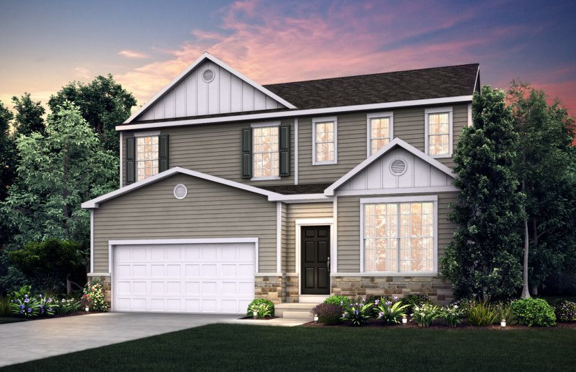 Exterior featured in the Dalton By Pulte Homes in Minneapolis-St. Paul, MN