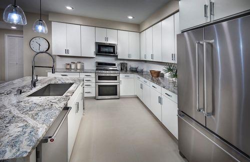 Kitchen-in-Plan 1-at-Flats at Metro-in-Milpitas