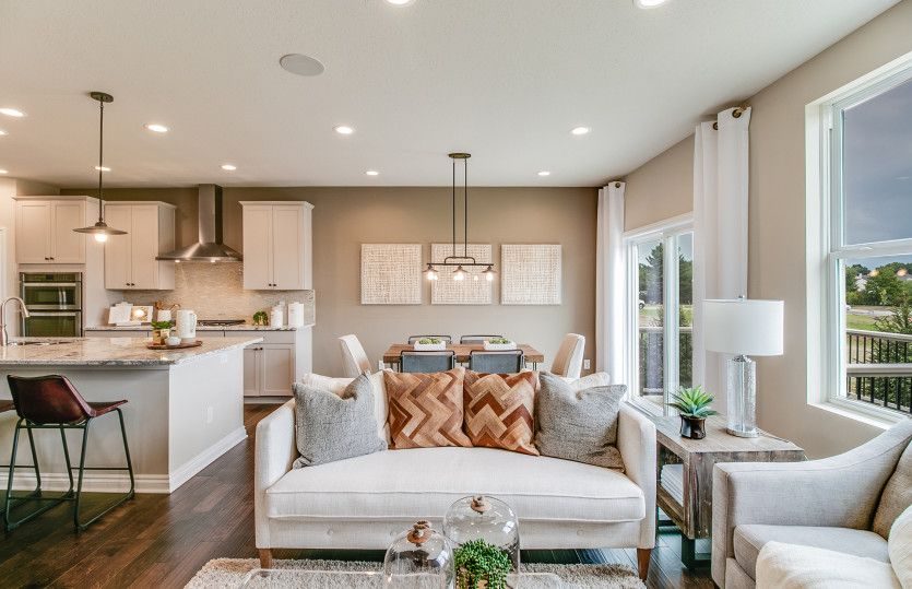 Living Area featured in the York By Pulte Homes in Ann Arbor, MI