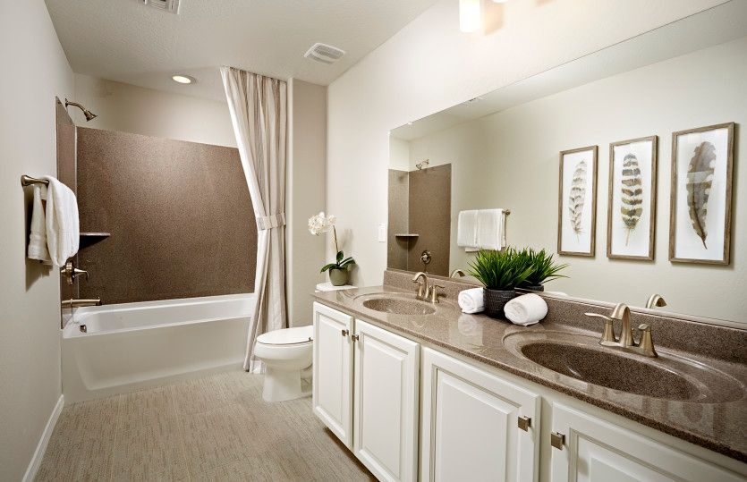Bathroom featured in the Fifth Avenue By Pulte Homes in Phoenix-Mesa, AZ