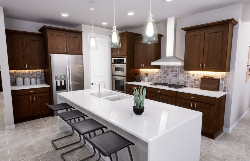 Kitchen featured in the Trento By Pulte Homes in Phoenix-Mesa, AZ