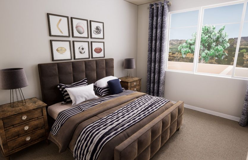 Bedroom featured in the Trento By Pulte Homes in Phoenix-Mesa, AZ