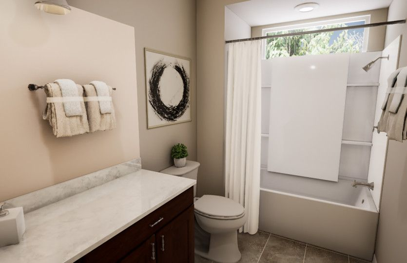 Bathroom featured in the Trento By Pulte Homes in Phoenix-Mesa, AZ