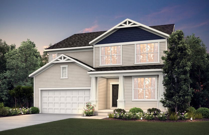 Exterior featured in the Continental By Pulte Homes in Minneapolis-St. Paul, MN