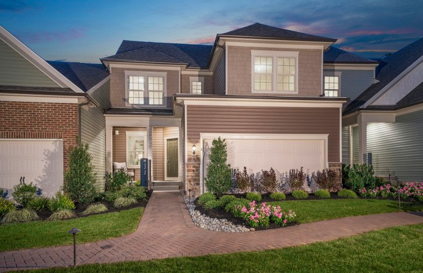 Exterior featured in the Turin with Basement By Pulte Homes in Hunterdon County, NJ