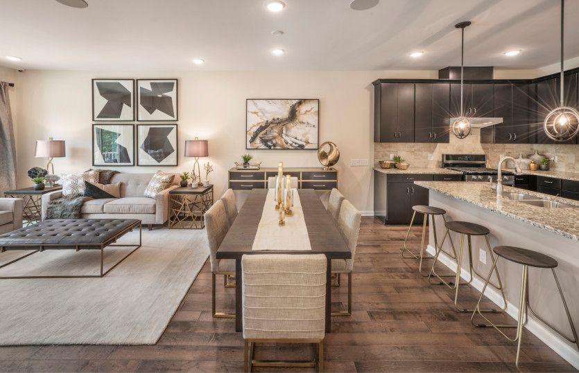 Living Area featured in the Turin with Basement By Pulte Homes in Hunterdon County, NJ