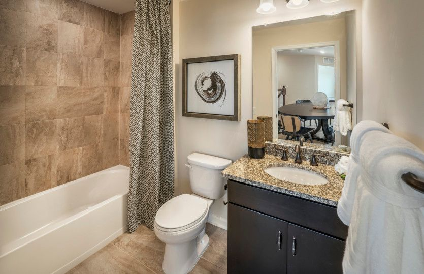 Bathroom featured in the Turin with Basement By Pulte Homes in Hunterdon County, NJ