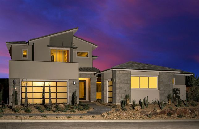 Reverence Collection V In Las Vegas, NV, New Homes & Floor