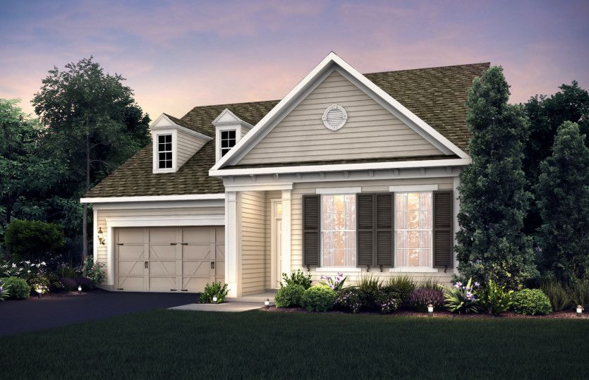 Exterior featured in the Senoia By Pulte Homes in Columbus, OH