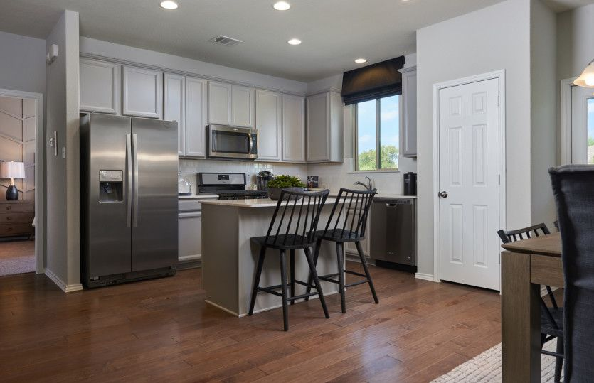 Kitchen-in-Granville-at-Carmel Creek-in-Hutto