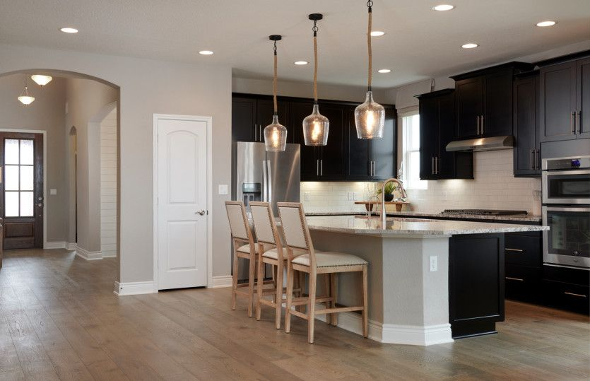 Kitchen-in-Mooreville - 3-Car Garage-at-The Overlook at Cielo Ranch-in-Boerne