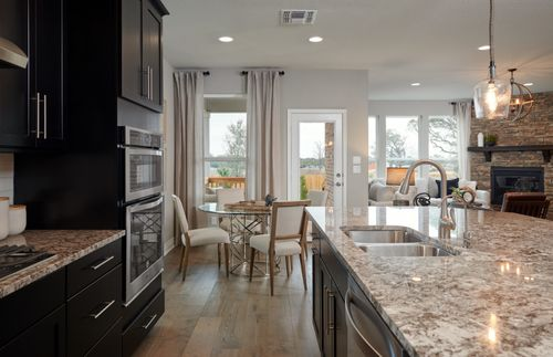 Kitchen-in-Mooreville-at-The Overlook at Cielo Ranch-in-Boerne