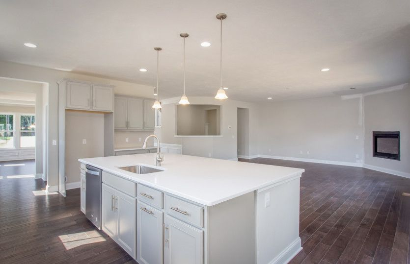 Kitchen featured in the Edinburg By Pulte Homes in Akron, OH