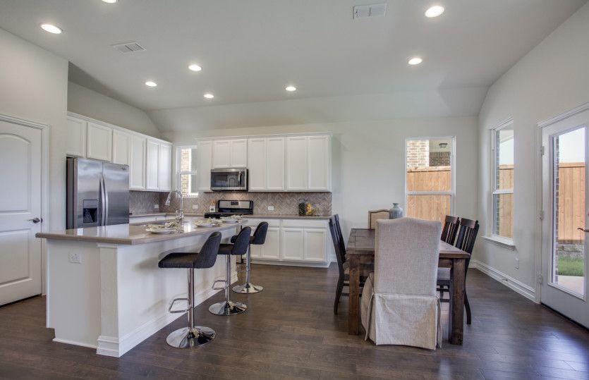 Kitchen-in-Arlington-at-The Crossvine-in-Schertz