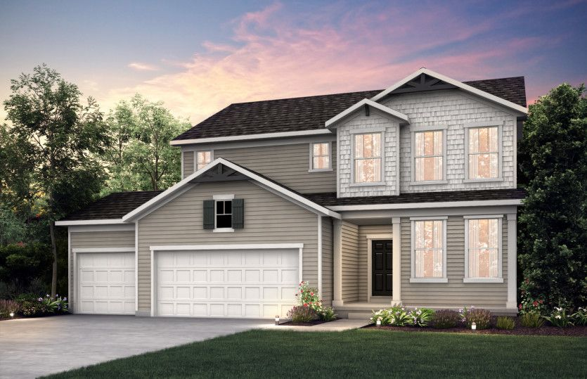 Exterior featured in the Newberry By Pulte Homes in Minneapolis-St. Paul, MN
