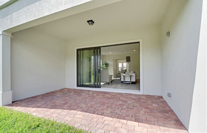 Exterior featured in the Pompano By Pulte Homes in Palm Beach County, FL