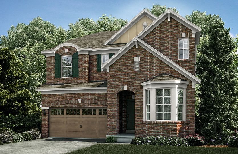 Exterior featured in the Woodward By Pulte Homes in Ann Arbor, MI