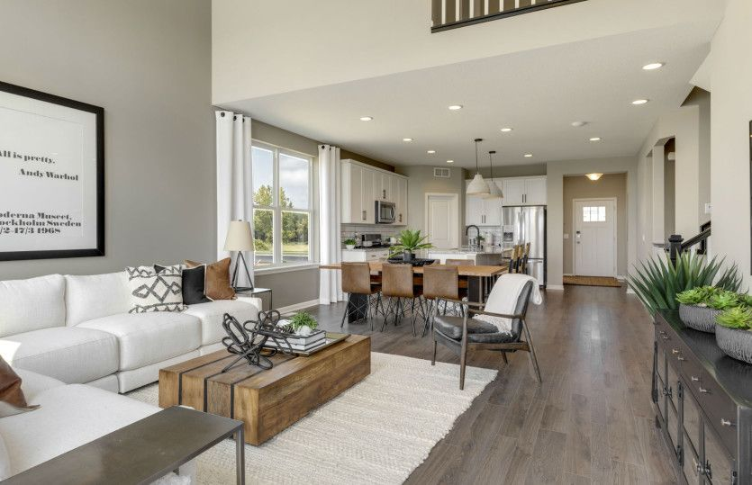 Living Area featured in the Linwood By Pulte Homes in Minneapolis-St. Paul, MN