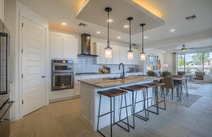 Kitchen featured in the Saguaro By Pulte Homes in Santa Fe, NM