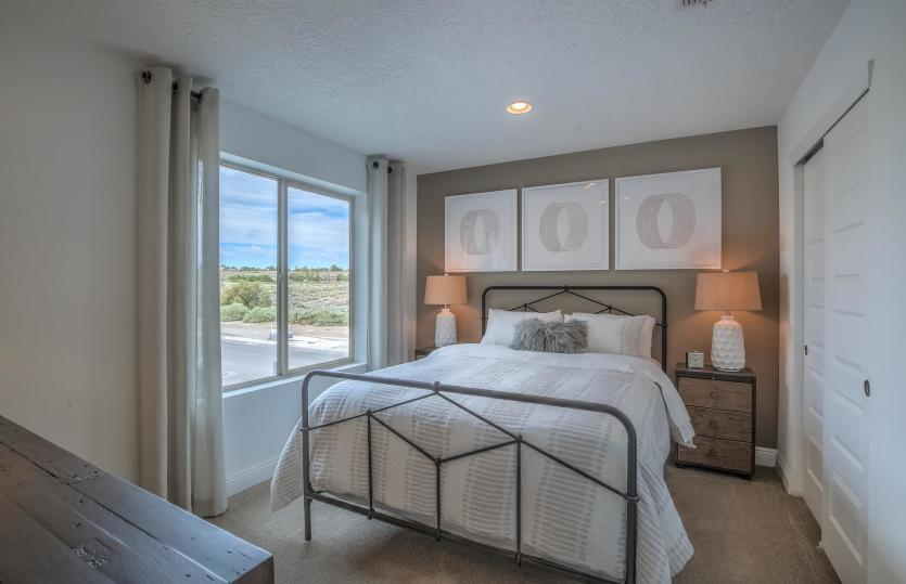 Bedroom featured in the Saguaro By Pulte Homes in Santa Fe, NM