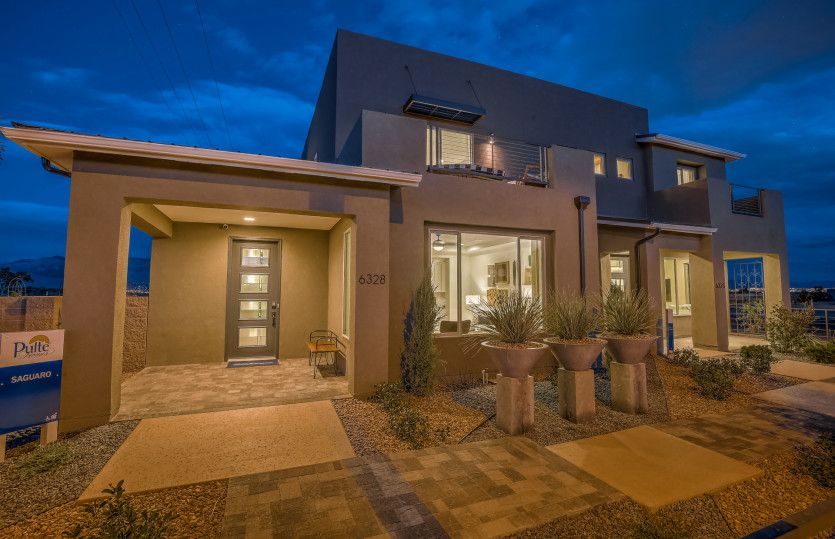 Exterior featured in the Saguaro By Pulte Homes in Santa Fe, NM