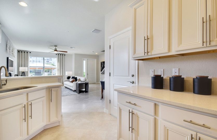 Kitchen featured in the Magnolia Interior By Pulte Homes in Broward County-Ft. Lauderdale, FL