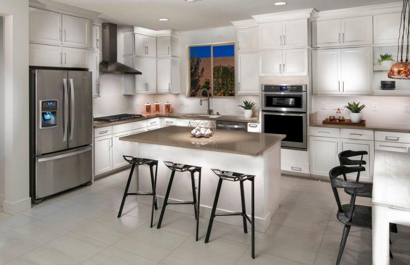 Kitchen-in-Modena-at-Eagle Ridge at Skye Canyon-in-Las Vegas