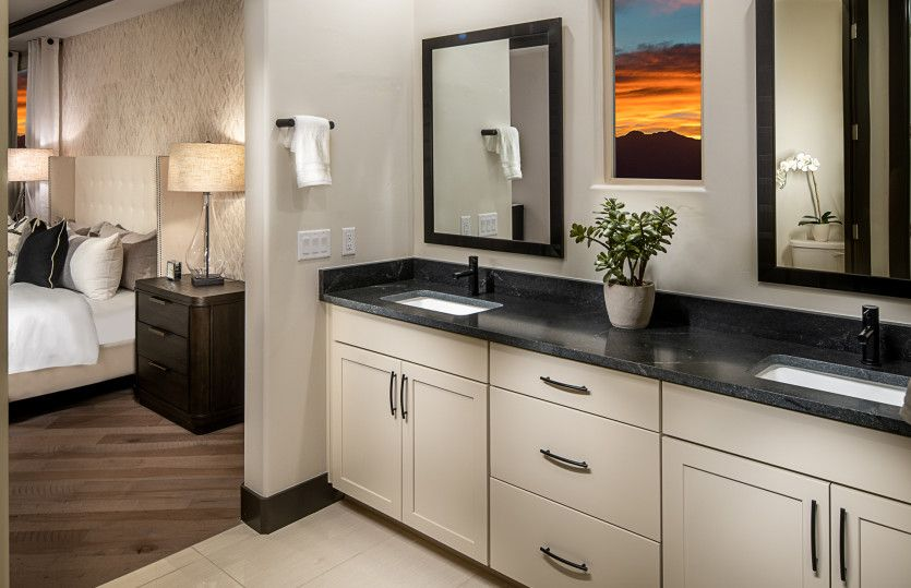 Bathroom featured in the Gateway By Pulte Homes in Las Vegas, NV
