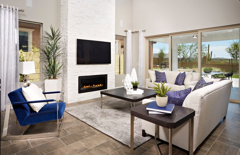 Living Area featured in the Prato By Pulte Homes in Phoenix-Mesa, AZ