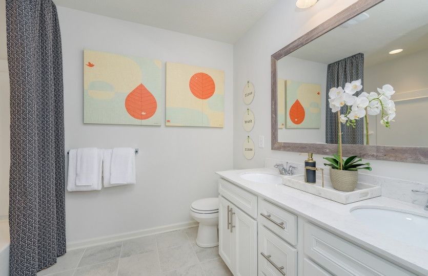 Bathroom featured in the Hilltop By Pulte Homes in Indianapolis, IN