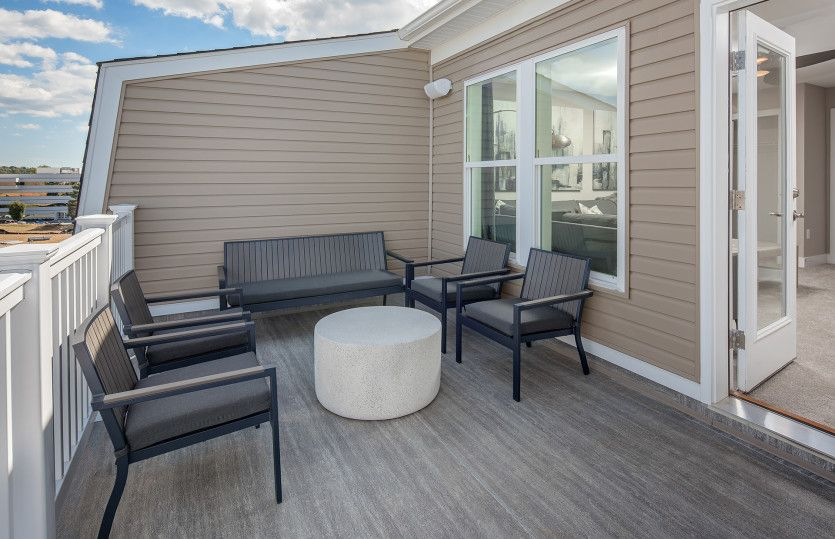 Exterior featured in the Frankton with Rooftop Terrace By Pulte Homes in Washington, MD