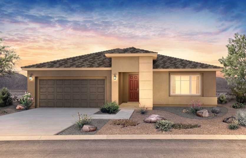 Exterior featured in the Gardengate By Pulte Homes in Albuquerque, NM