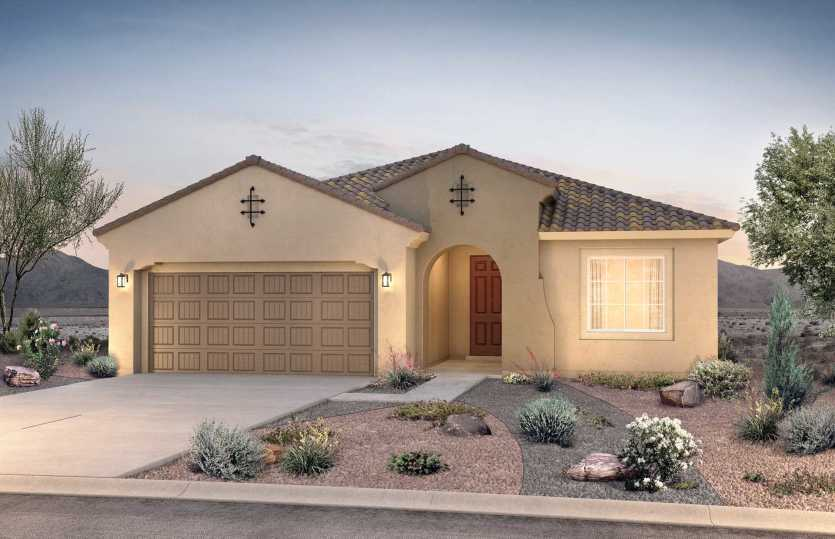 Exterior featured in the Gateway By Pulte Homes in Albuquerque, NM