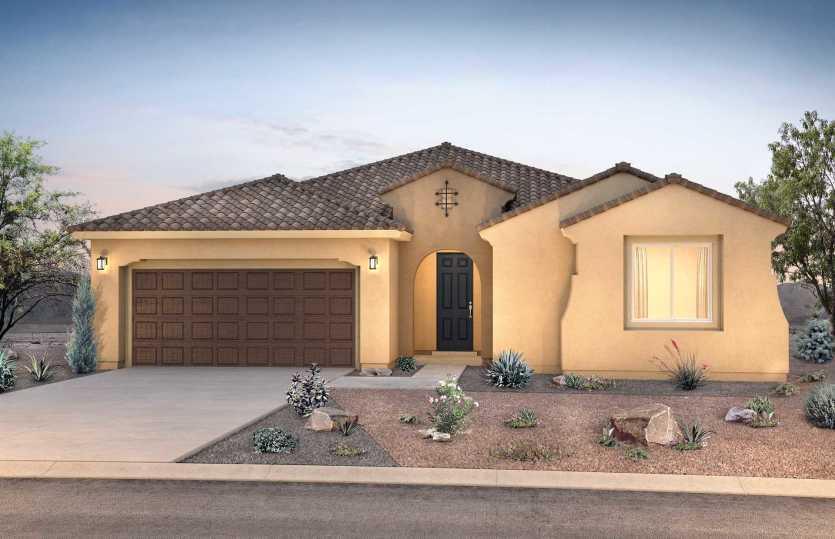 Exterior featured in the Parklane By Pulte Homes in Albuquerque, NM