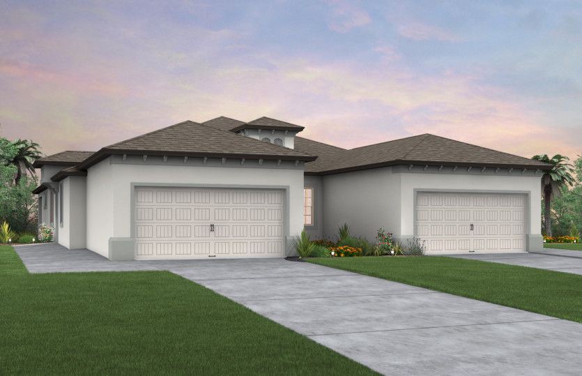 Exterior featured in the Serenity By Pulte Homes in Tampa-St. Petersburg, FL