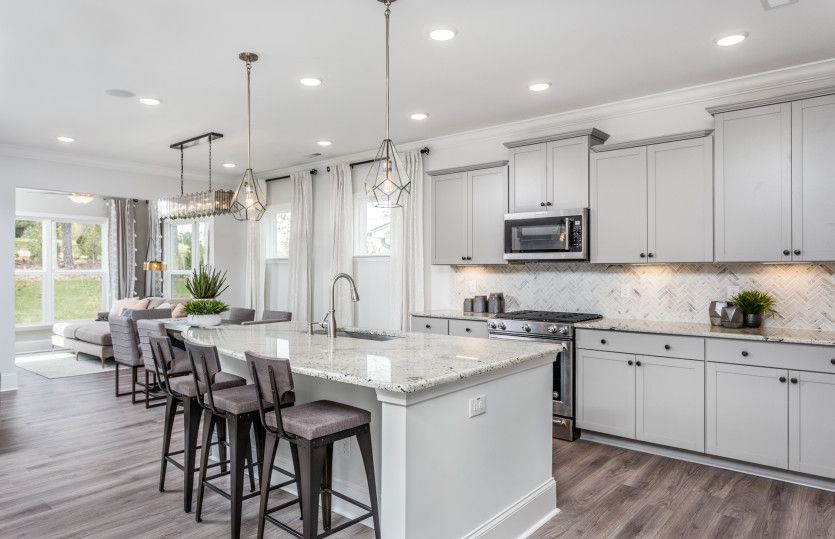 Kitchen featured in the Continental By Pulte Homes in Raleigh-Durham-Chapel Hill, NC