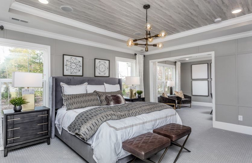 Bedroom featured in the Continental By Pulte Homes in Raleigh-Durham-Chapel Hill, NC