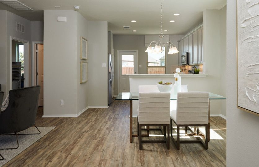 Kitchen featured in the Lincoln By Pulte Homes in Austin, TX